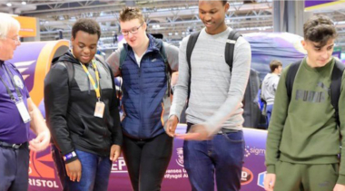 young people at the 2014 skills show