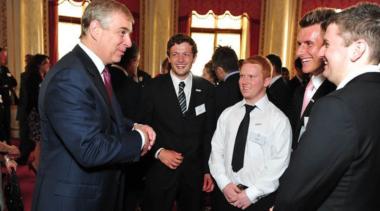 Duke of York presents outstanding achievement awards