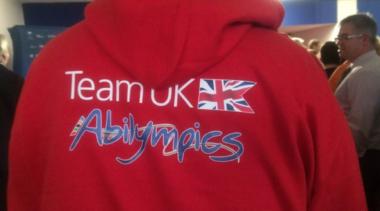 TeamUK Abilympics hoodie