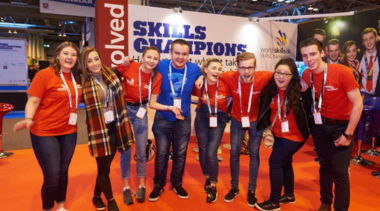 skills champions standing together