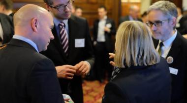 industry representatives speaking
