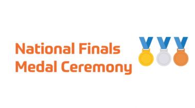 national finals medal ceremony logo