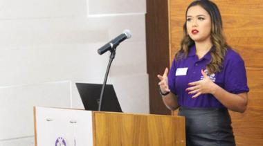 rebecca public speaking