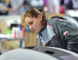 Rebecca competing pic