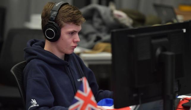 Dan competing