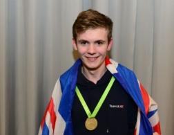Dan with medal