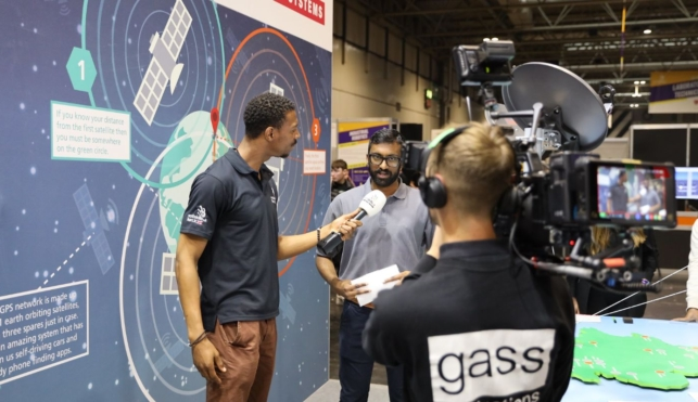 Filming at WorldSkills UK LIVE