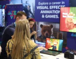 visual effects and animation stand