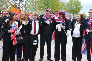 Photo of competitors at WorldSkills London 2011