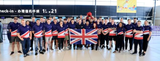 Photo of Team UK in Kazan 2019
