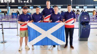 Photo of Team UK in Kazan 2019