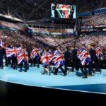 Photo of WorldSKills UK team at opening ceremony WorldSkills Kazan 2019