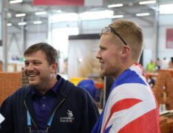 Photo of WorldSkills Educator working in partnership