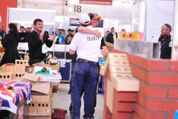 Photo of competitor Philip Green in Bricklaying WorldSkills London 2011