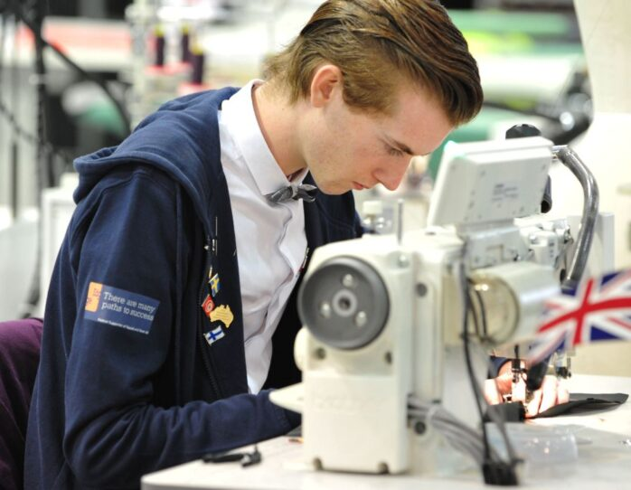 Photo of Rory Andrew competitor in Fashion Technology WorldSkills London 2011