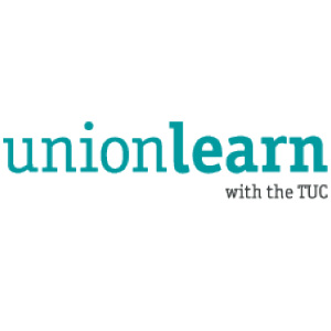 Unionlearn with the TUC logo