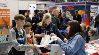 young people at worldskills uk live