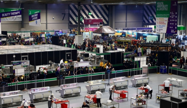 Competitions at WorldSkills UK Live