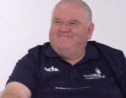 Photo of Steve who supports WorldSkills with Electronics