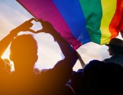 Photo of LGBTQ flag