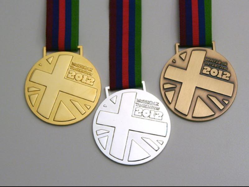 Medals for 2012 National Finals