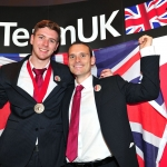 Ryan Sheridan with his bronze medal at WorldSkills London 2011