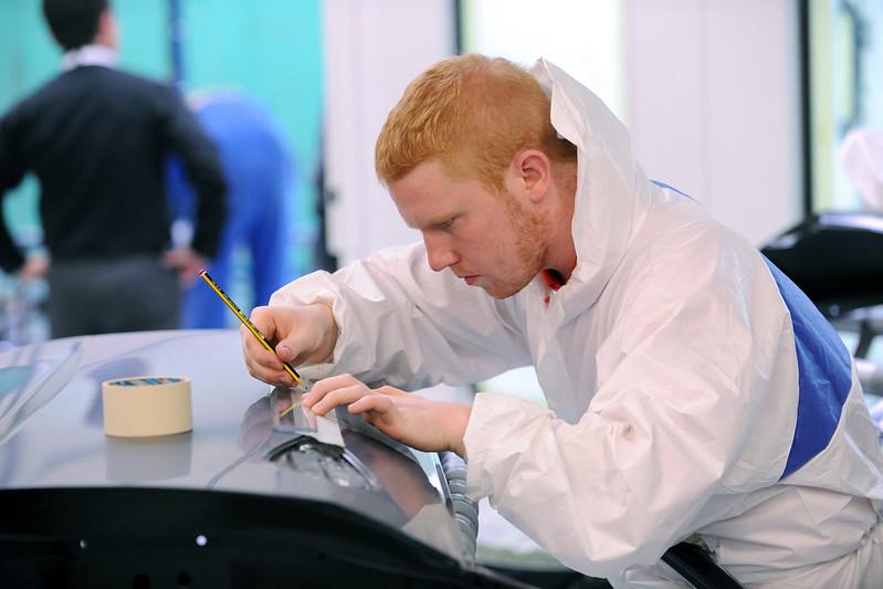 Ben taking part in WorldSkills Competition