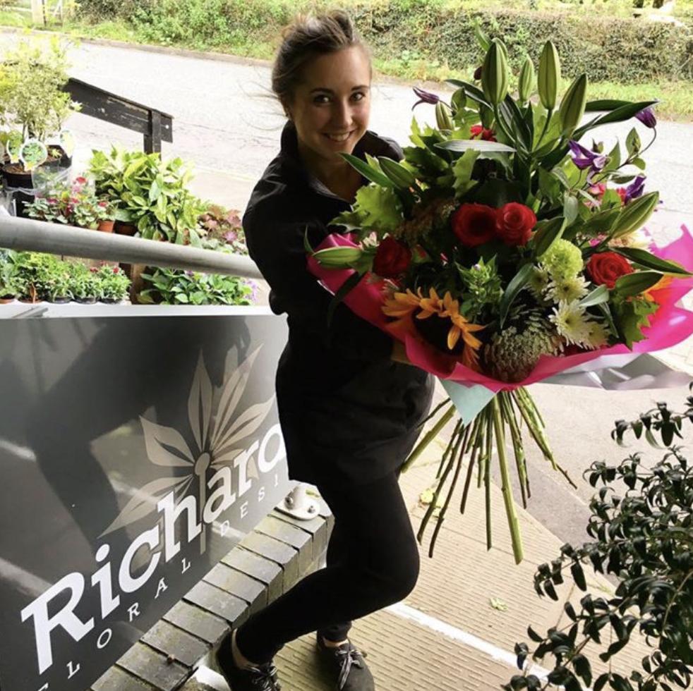 Victoria Richards Florist Bouquet